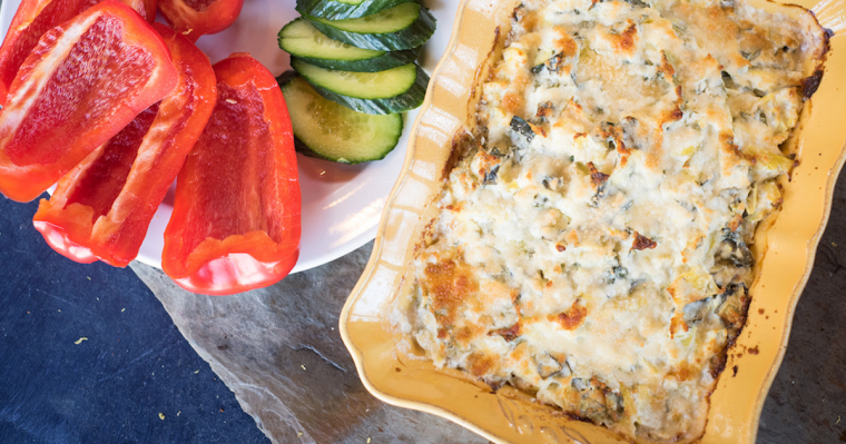 Hot Kale & Artichoke Dip Recipe