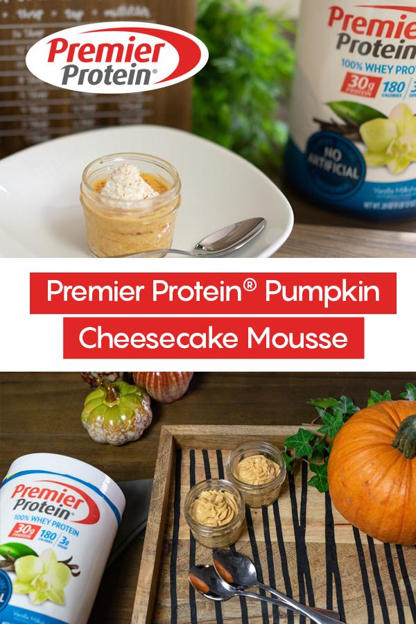 Pinterest Protein Pumpkin Cheesecake Mousse 1