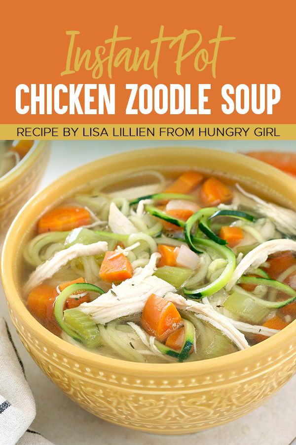 Pinterest Instant Pot Chicken Zoodle Soup