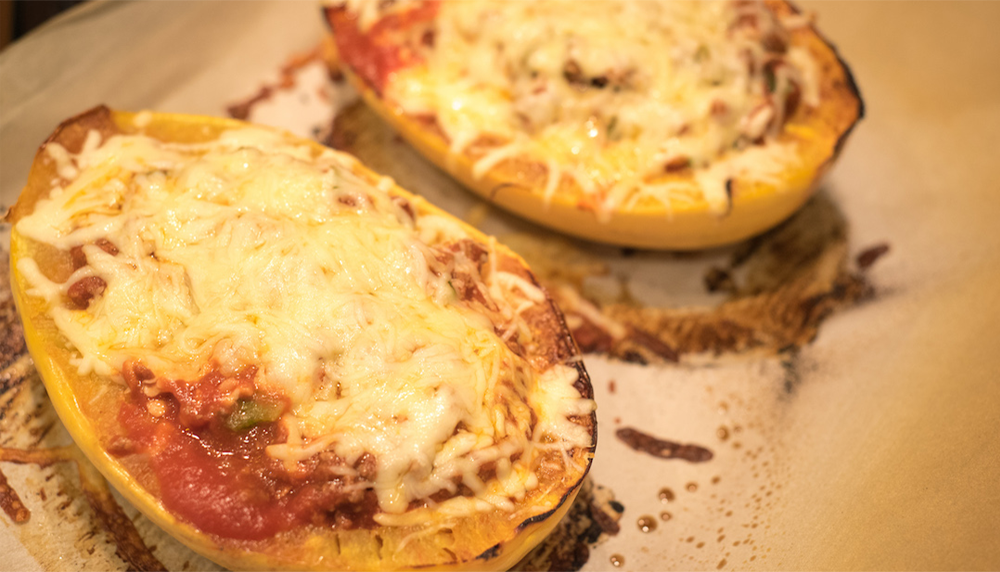 Easy Cheesy Spaghetti Squash Recipe