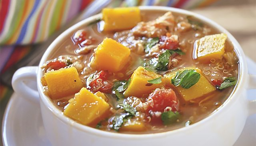 Chicken Butternut Squash Quinoa Stew