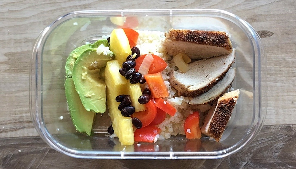 Low-Carb Jerk Chicken Bowl