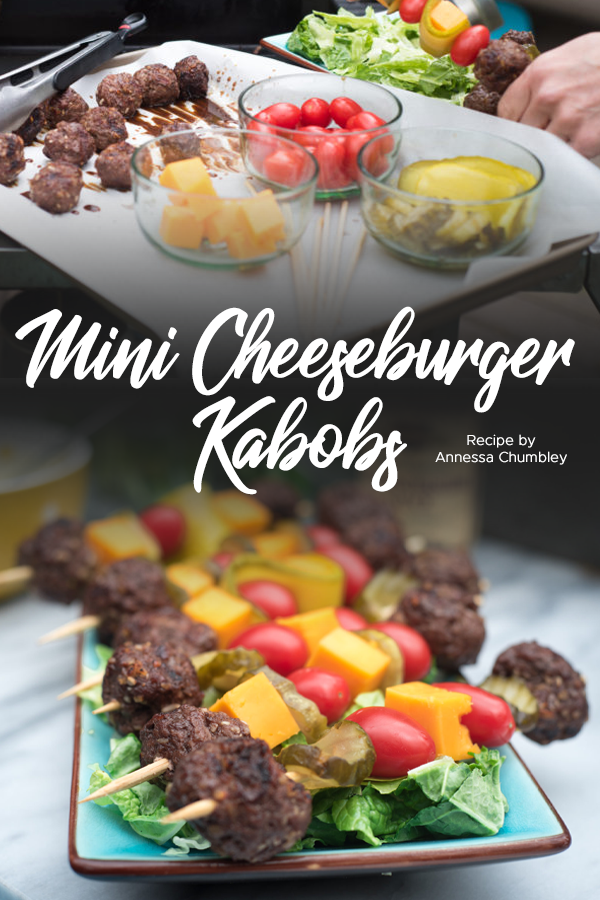 Pinterest Mini Cheeseburger Kabobs