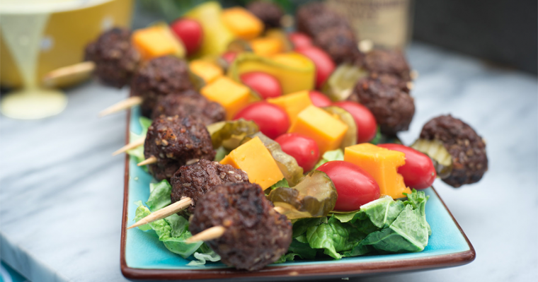 Pinterest Mini Cheeseburger Kabobs 1
