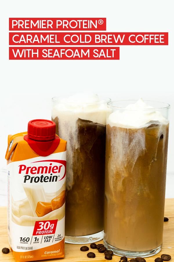 Premier Protein Caramel Cold Brew Coffee