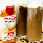 Premier Protein® Caramel Cold Brew Coffee with Sea Salt Foam