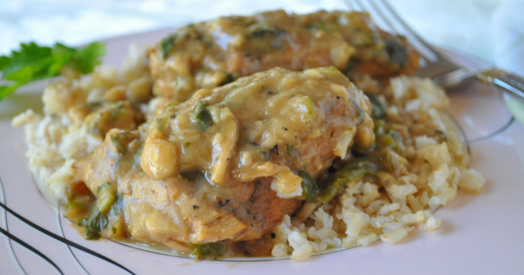 Smothered Chicken Breasts Recipe