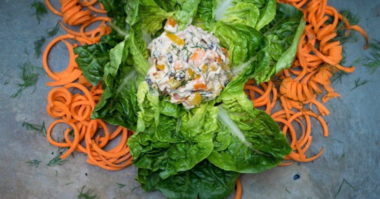 High Protein Tuna Salad Recipe