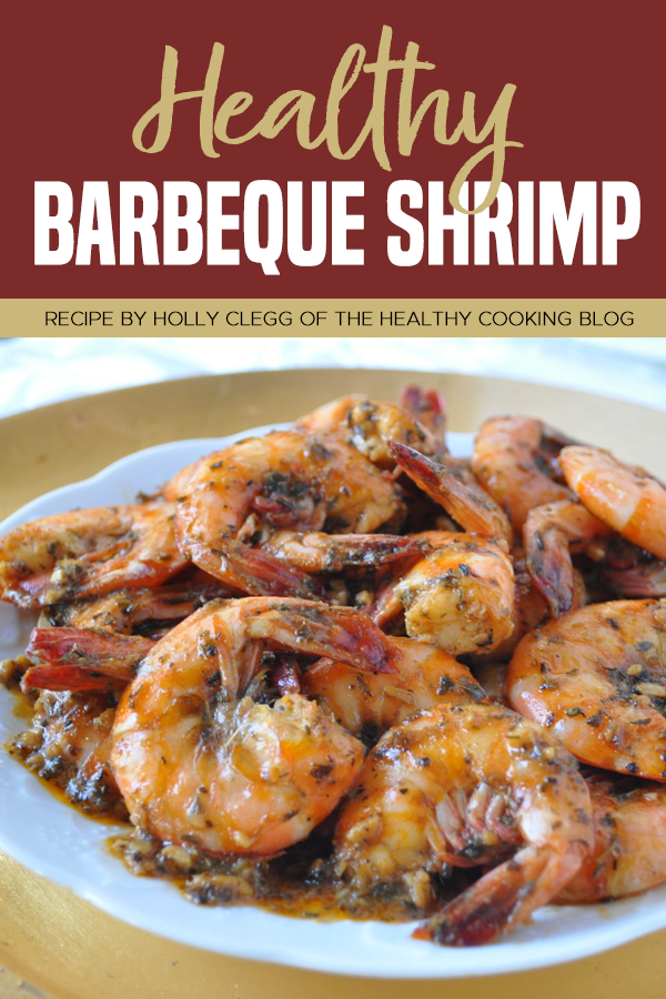 Pinterest Healthy Barbeque Shrimp