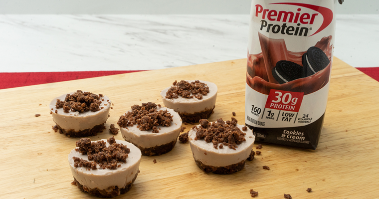 Premier Protein® Cookies & Cream Cheesecake Bites