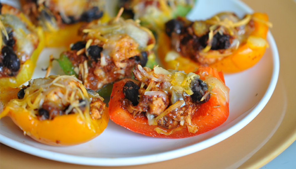 Recipe for Bell Pepper Nachos
