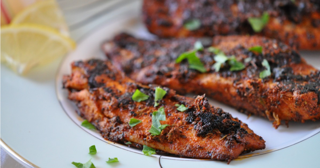 Blackened Fish Recipe with Simple Rub