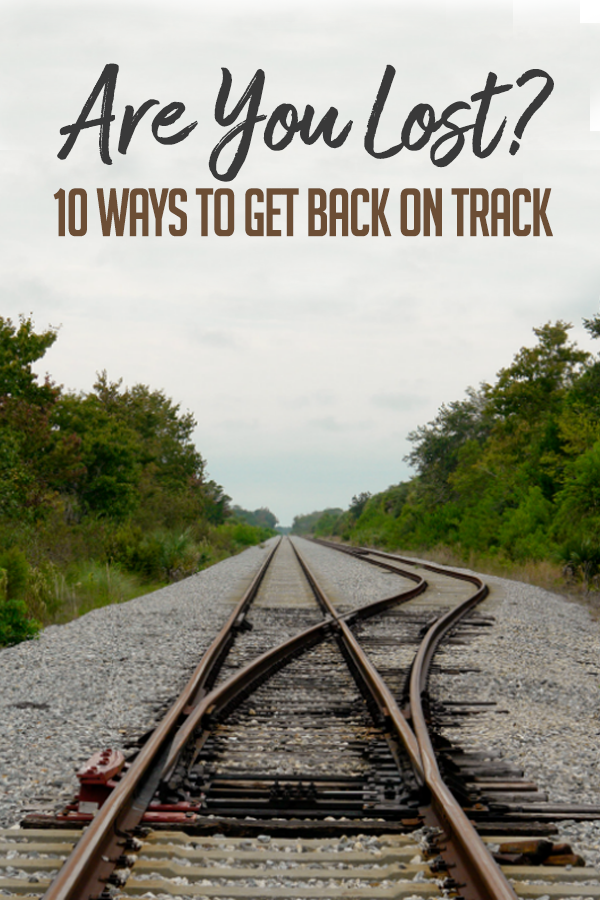 ways to get back on track pinterest