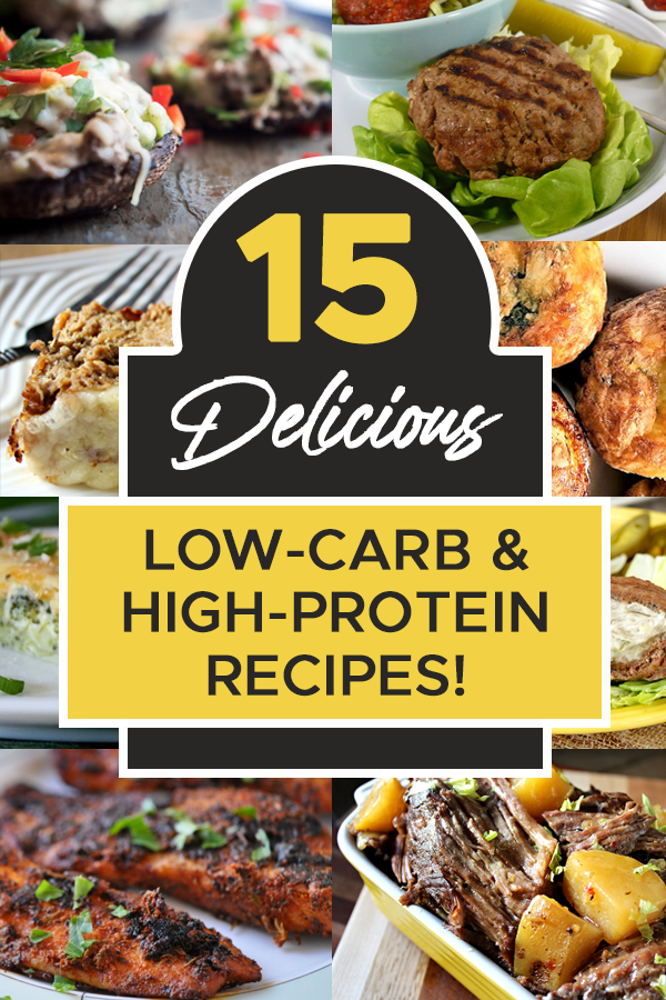 Pinterest Low Carb & High Protein Recipes 2