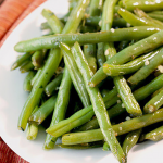 Garlic & Herb Green Beans Side Dish