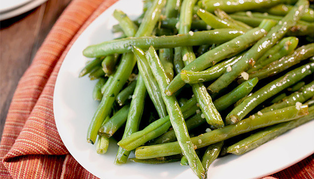 Holiday Garlic and Herb Green Beans Side Dish Recipe
