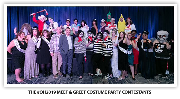 #OH2019 Meet and Greet Costume Party Contestants