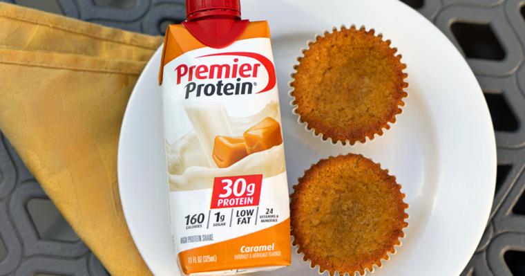 Caramel Pumkin Spice Muffins