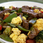 Steak 'n Eggs Stir-Fry Recipe, Packed with Protein!