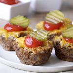 Cheeseburger Mini Meatloaves Recipe