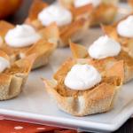 Mini Pumpkin Pies – Great for Sharing!