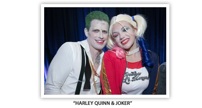 #OH2019 Meet and Greet Costume Party Harley Quinn Joker