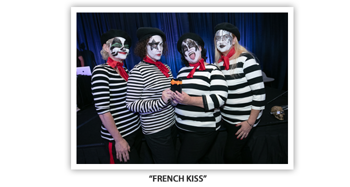 #OH2019 Meet and Greet Costume Party french kiss