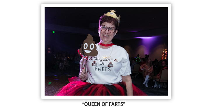 #OH2019 Meet and Greet Costume Party queen of farts