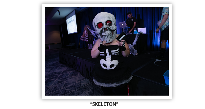 #OH2019 Meet and Greet Costume Party skeleton