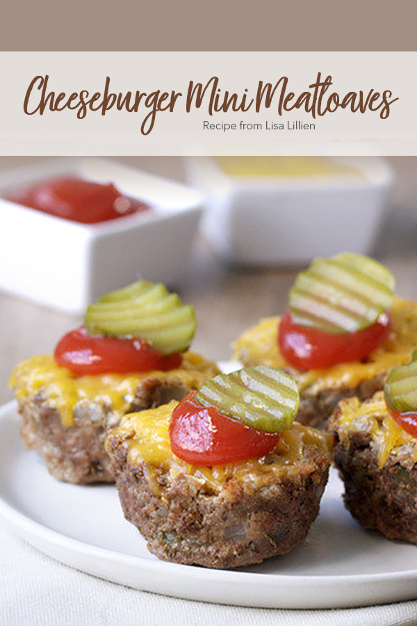 Pinterest Cheeseburger Mini Meatloaves Recipe