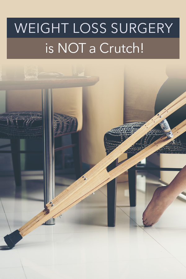 Pinterest Bariatric Surgery is NOT a Crutch