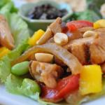 Chicken Stir-Fry Lettuce Wraps, Quick & Easy