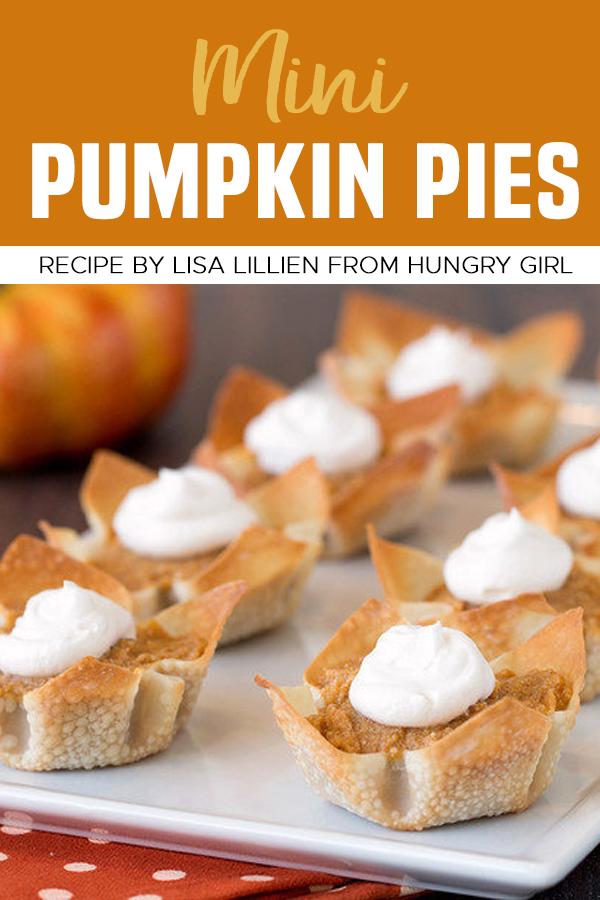 Pinterest Mini Pumpkin Pies