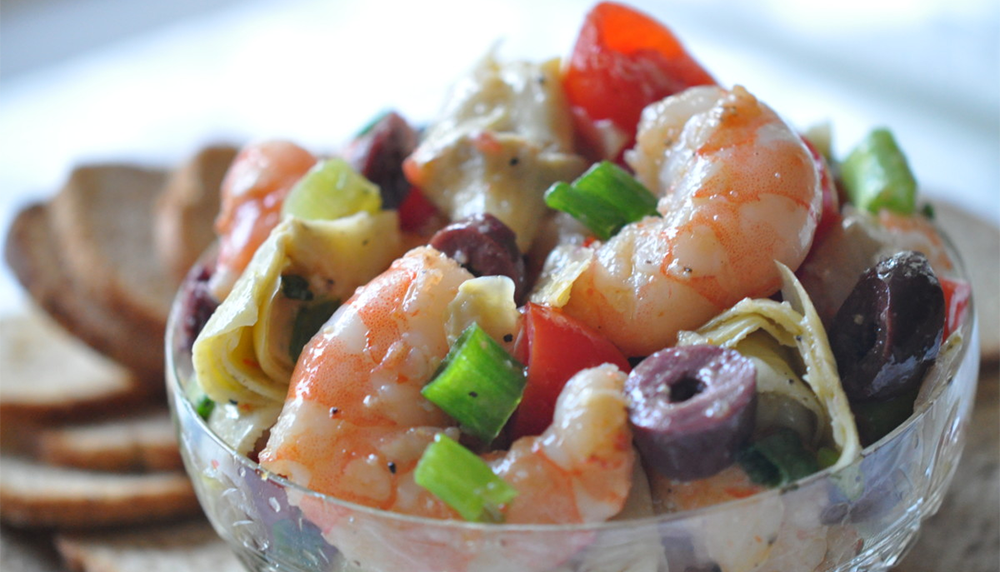 Marinated Shrimp and Artichokes Recipe