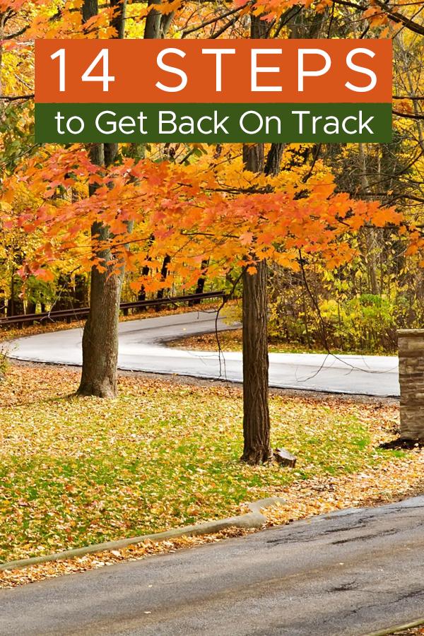 Pinterest 14 steps to get back on track