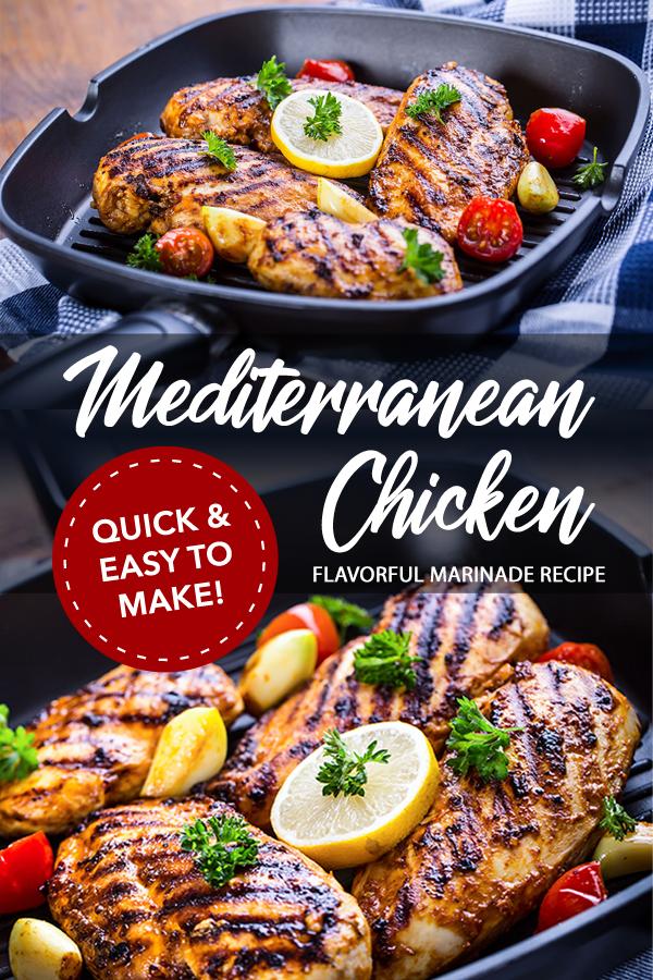 Pinterest Grilled Mediterranean Chicken Marinade Recipe