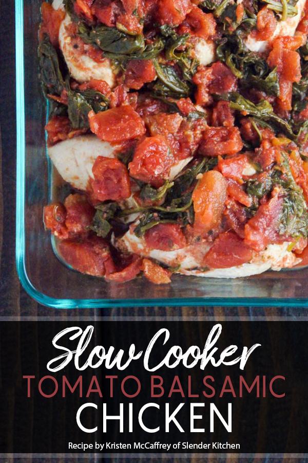 Pinterest Slow Cooker Balsamic Tomato Chicken Recipe