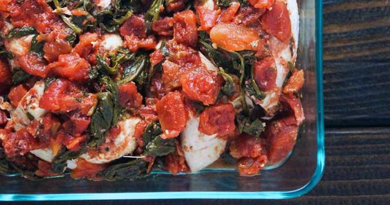 Slow Cooker Tomato Balsamic Chicken Recipe