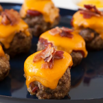 Bacon Cheeseburger Mini Meatloaves Recipe