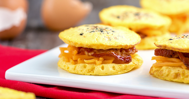 egg bun breakfast sandwiches recipe 1