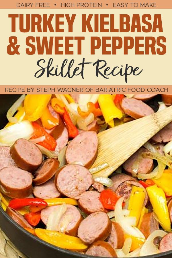 Pinterest Turkey Kielbasa and Sweet Peppers Skillet Recipe
