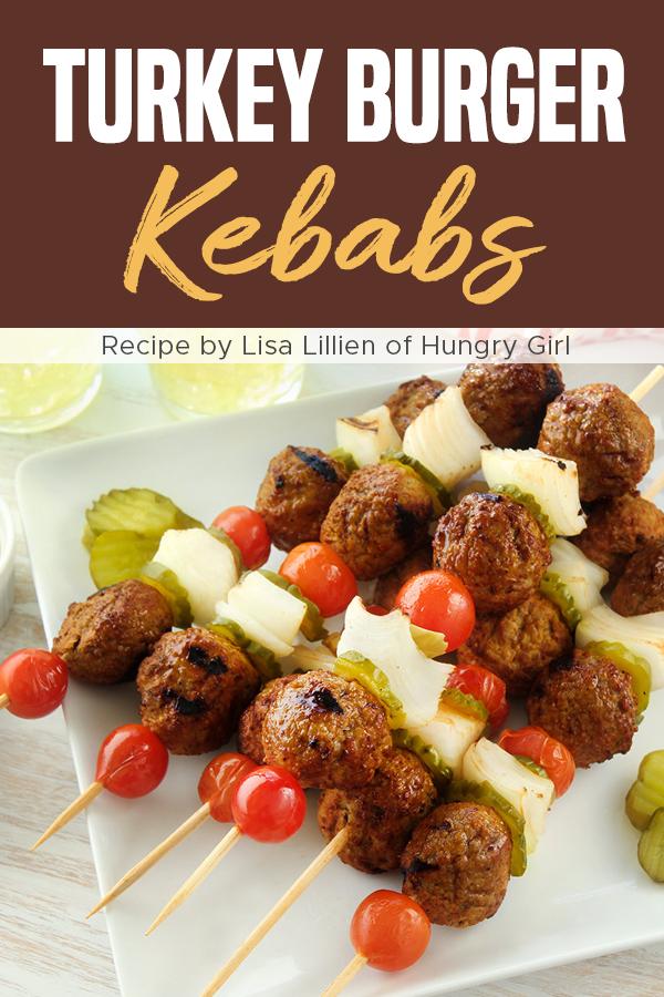 Pinterest Turkey Burger Kebabs