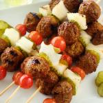 Turkey Burger Kebabs Recipe
