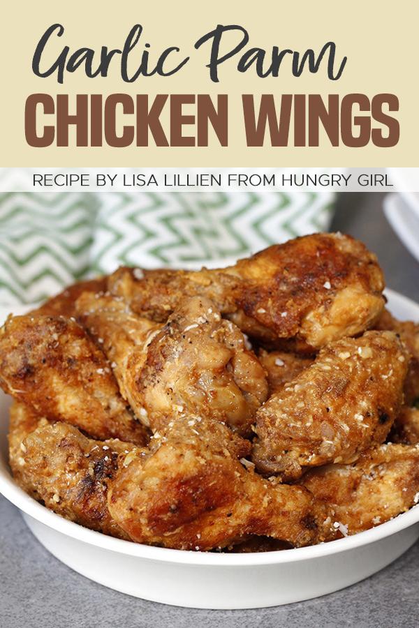 Pinterest Garlic Parm Chicken Wings recipe