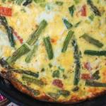 Asparagus and Tomato Frittata with Feta Recipe