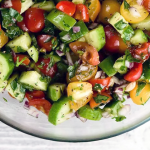 Israeli Chopped Salad Recipe – a Refreshing & Easy Side Dish!