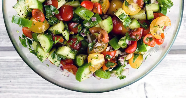 Israeli Chopped Salad Recipe
