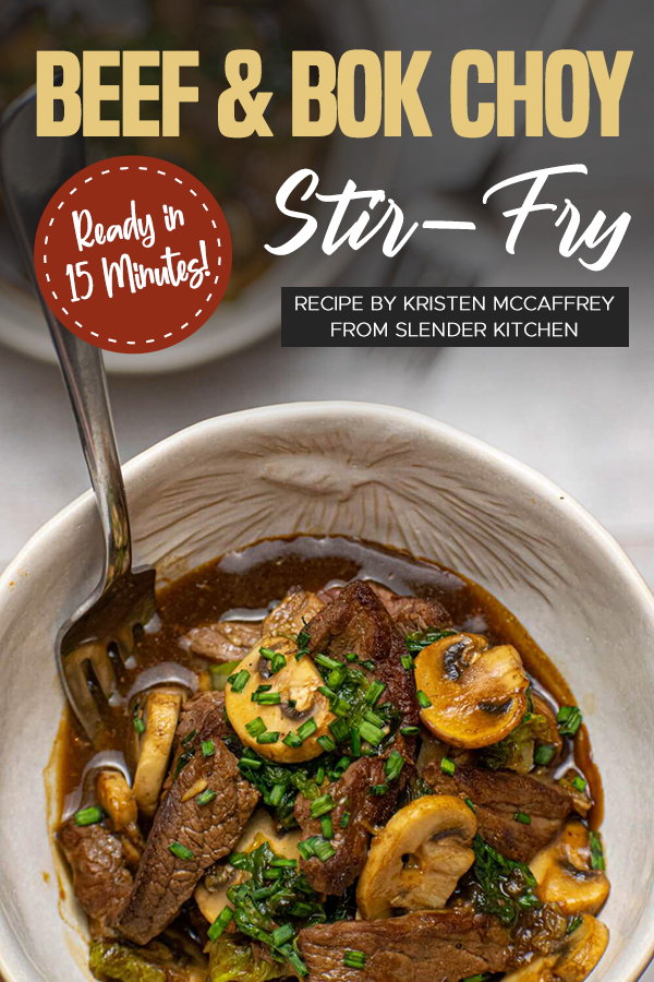 Pinterest Beef & Bok Choy Stir Fry