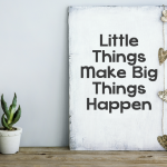 Losing The Weight Regain: Little Things Make Big Things Happen
