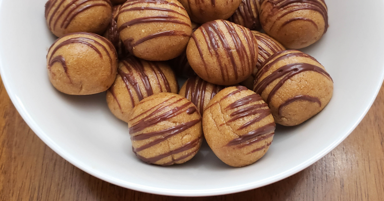 feature peanut butter protein balls recipe